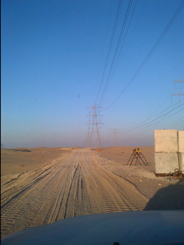 Gulf Joti Overhead Transmation Line