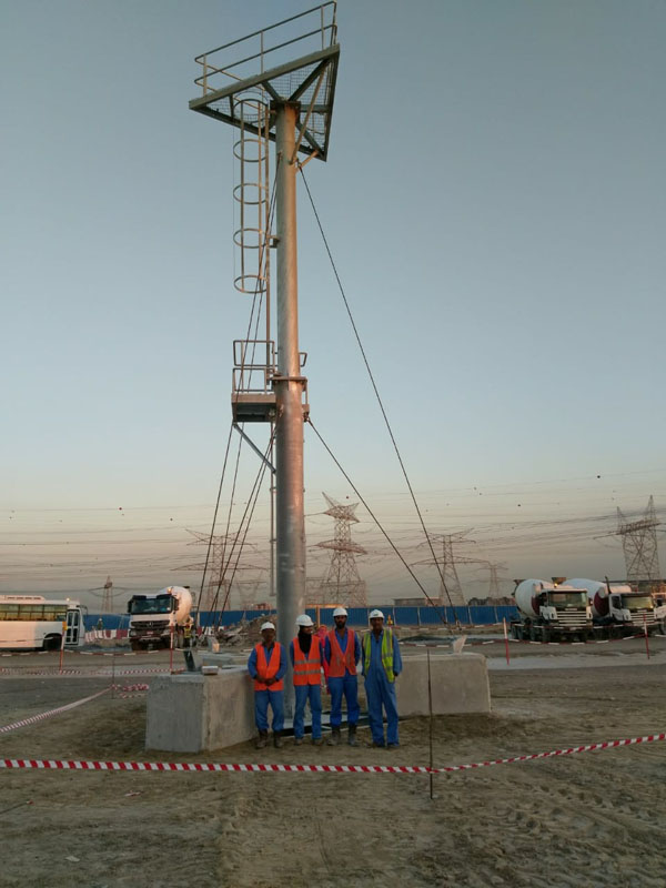 Light Tower for Mydan Mall Dubai